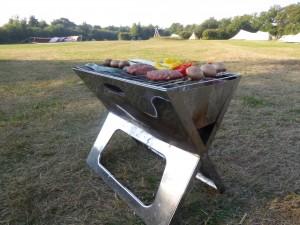 Lekker kokkerellen met de bijgeleverde BBQ