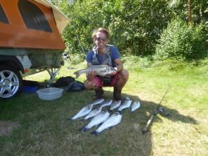 Vangst van de dag!