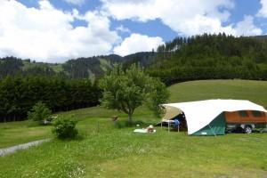 Op 1,5km hoogte in Oostenrijk